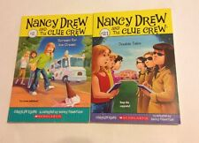 Nancy Drew Lot Of 2 Paperback Scream For Ice Cream And Double Take Carolyn Keene