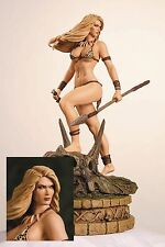 Women of Dynamite Jungle Girl Diamond Eye Statue LIMITED EDITION 42/99!!! NIB!!!