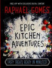Epic Kitchen Adventures by Raphael Gomes (2016, Hardcover) (FREE 2DAY SHIP)