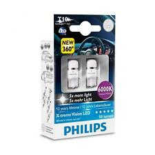 Philips X-treme Vision LED 360 W5W T10 6000K (Twin) - parking bulbs 2 pcs