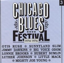 Various Artists - Chicago Blues Festival Vol.3 1974-1976 - Black   Blue New CD