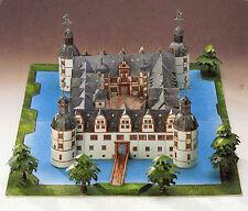 Schloß Neuhaus Komplette Schlossanlage 1:250 für Spur Z Bastelbogen J.F.Schreibe