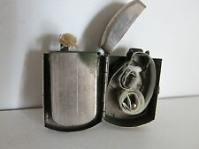 VINTAGE RARE ANTIQUE GERMAN CAP PETROL LIGHTER PATENT 6822 -1890's WORKING
