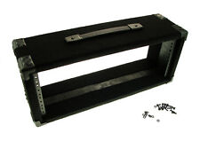 "Procraft 4U 6"" Deep Equipment Rack 4 Space - Made in the USA - With Rack Screws"