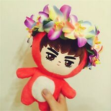 "KPOP Star EXO Red Dragon Kris EXO-M 8"" Plush Toy Stuffed Doll Fans Collection"