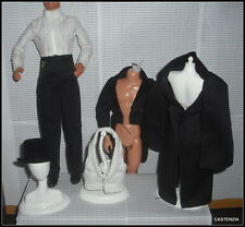 OUTFIT COMPLETE KEN GONE WITH THE WIND  DOLL CAPE JACKET PANTS VEST SOCKS SHOES
