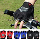 New Half Finger Cycling Gloves Bike Bicycles Gloves With Summer Pads For Tour