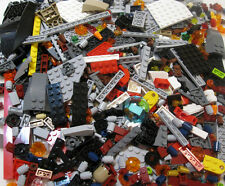 500 NEW LEGO PIECE LOT + 3 MINIFIGS random brick figures movie star wars parts