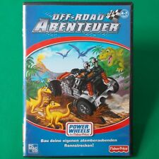 PC - DVD ROM ► Fisher-Price Power Wheels - Off-Road Abenteuer ◄
