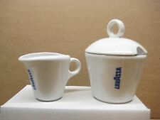 Lavazza Vintage Logo Milk Jug and Sugar Bowl
