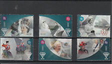 Guernsey 2012 MNH Queen's Diamond Jubilee 6v Set Royalty Elizabeth II QE II