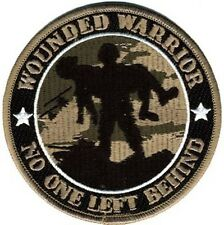 NEW Wounded Warrior - No One Left Behind patch. 4 inches 73209