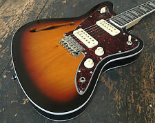 Revelation Sunburst RJT-60 TL Thin Line Electric Guitar Brand New 2016 RRP 349.