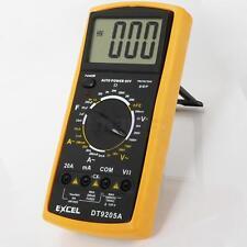 Digital Multimeter LCD AC/DC Ammeter Resistance Capacitance EXCEL DT9205A