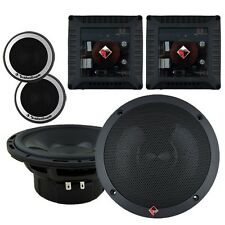 "NEW Rockford T1650-S 6-1/2"" Power Series Car Audio 2-Way Component Speakers"