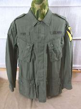 size L US ARMY VIETNAM Feldjacke 1st Cavalry Field Jacket Jungle M64 oliv Jacke