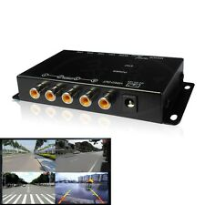 Quad Way 360 Degree Parking View 4 Cameras Video Image Split-Screen Control Box