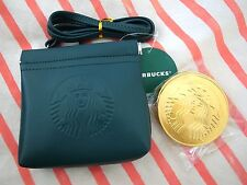 New Starbucks Taiwan Siren Logo Coin Milk Chocolate Purse- Hangbag- shoulder bag
