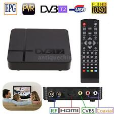 HD 1080P K2 DVB-T2 Digital Video TV Set-top Box Terrestrial Receiver for TV L4O4