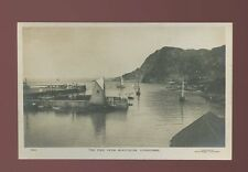 Devon ILFRACOMBE Pier from Quayfields small sail boats c1900/10s RP PPC Twiss Br