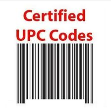 500 UPC/EAN Numbers Barcodes Bar Code Number Lifetime Guarantee for marketplace