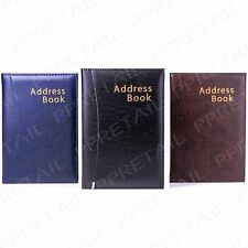 HIGH QUALITY A-Z Address Book A5 Phone Office Records Contact Organiser Desk