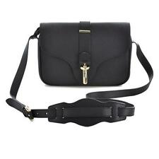 Balenciaga Black Grainy Leather Small Tube Flap Crossbody Shoulder Bag $1495