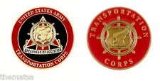 "ARMY TRANSPORTATION CORPS SPEARHEAD OF LOGISTICS 1.75"" CHALLENGE COIN"