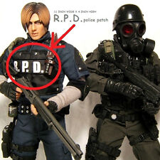 "WORLD WAR ""Z"" RESIDENT EVIL ZOMBIE RACCOON CITY POLICE VEST hook/loop SSI R.P.D."
