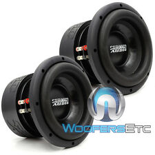 "(2) SA-8 V1.5 D4 SUNDOWN AUDIO SUBS 8"" DVC 4 OHM 1000 WATTS RMS SUBWOOFERS NEW"