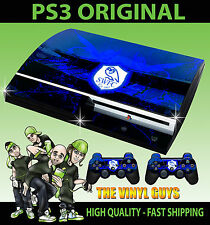 Playstation 3 Sheffield Wednesday Owls Football Sticker Skin + Controller decals