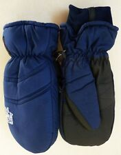BRAND NEW HEAT FACTORY SKI SNOWBOARD GLOVES MITTENS NAVY BLUE MENS SMALL