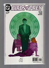 Birds of Prey #49 VFNM Autographed by Phil Noto & Terry Moore