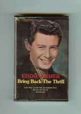 Eddie Fisher- Bring Back the Thrill - CASSETTE - NEW