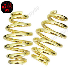 "3"" Gold Solo Seat Springs For Harley Softail Sportster Bobber Chopper Custom"