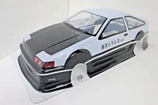 Toyota Trueno AE86 Corolla Pre-Painted Body / Wing 1/10th Scale HPI Kyohso Shell