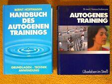 2 x Bücher über Autogenes Training - Geheimnisse der Esoterik