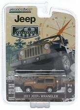 1:64 GreenLight 2015 *ANNIVERSARY COLLECTION* GOLD 2011 Jeep Wrangler *NIP!*