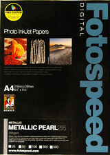 Fotospeed Metallic Pearl 295gsm A4 25 Sheets
