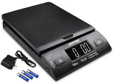 Accuteck 70lbx0.2oz All-In-One PT70 Digital Shipping Postal Scale W/AC Postage