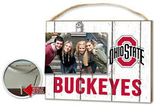 Ohio State Buckeyes Clip It Weathered Logo Photo Frame [NEW] NCAA Picture Plaque