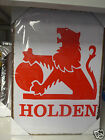 Holden Sign canvas print on 36 x 50 cms framed on wood ready to hang
