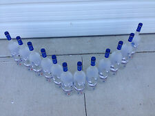 12 GREY GOOSE  BIG 1.75 BOTTLES BOTTLE MANCAVE DECORATION
