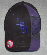 LSU TIGERS ADULTS NCAA COLLEGE CAPS HAT Z FIT STRECTH FIT M/L