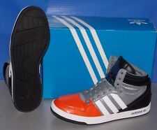 MENS ADIDAS COURT ATTITUDE in colors ORANGE / RUNNING WHITE / BLACK SIZE 12