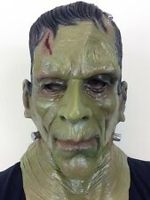 DELUXE FRANKENSTEIN MONSTER MASK KARLOFF HALLOWEEN HORROR MOVIE FANCY MASKS