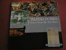 Telstar Ponies - Voices From The New Music 1996 Original  Fire Music UK mint