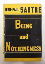 Jean-Paul Sartre Being and Nothingness Phenomenological Ontology 1st Ed 1956