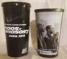 Fast and the Furious Mexico Movie Theater Exclusive 44 oz Plastic Cup Set