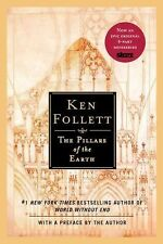 THE PILLARS OF THE EARTH Ken Follett 1st Print 2002 Mystery Trade Paperback